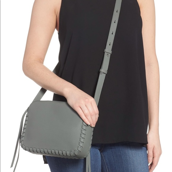 clients first new & pre-owned designer quite nice All Saints Kepi Mini Leather Crossbody Bag NWT